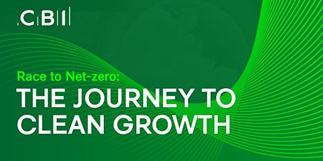 Race to Net-Zero: The Journey to Clean Growth tickets