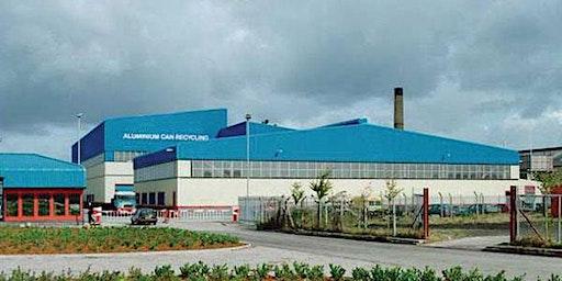 NWORG Novelis Aluminium Plant Visit Latchford