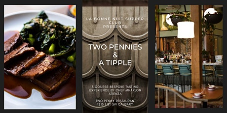 Two Pennies & A Tipple: Exclusive Tasting Menu & Cocktail at Two Penny tickets