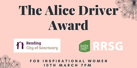 Alice Driver Award for Inspirational Women tickets