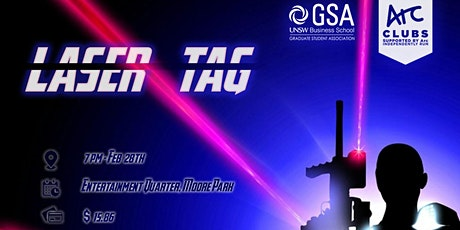 GSA Laser Tag Game tickets