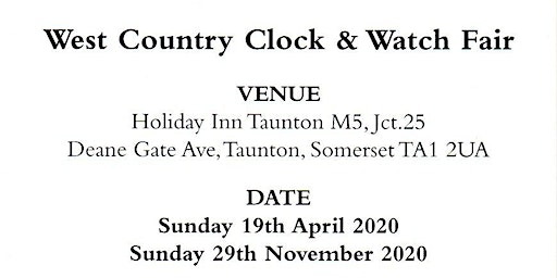 West Country Watch & Clock Fair