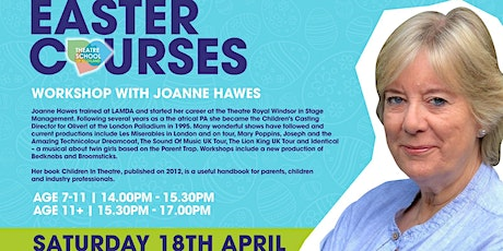 TSOS X Casting Director Joanne Hawes (Age 11+) tickets