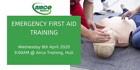 Level 3 Emergency First Aid at Work 1 Day Training Course - Airco Training tickets