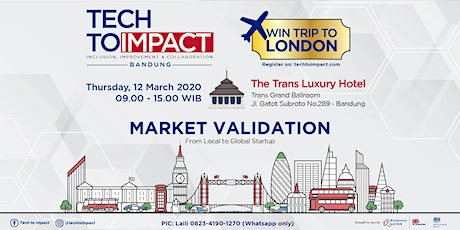 TECH TO IMPACT - Digital Start Up Market Stage tickets