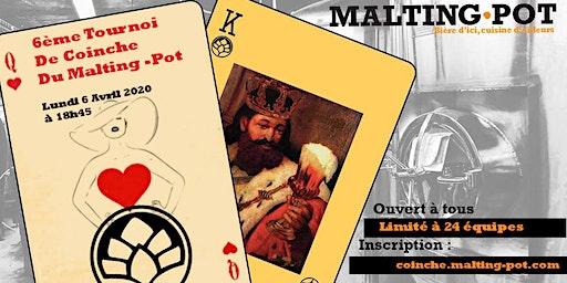 6ème tournoi de coinche du Malting-Pot