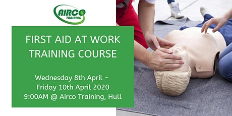 Level 3 Award in First Aid at Work 3 Day Training Course - Airco Training tickets