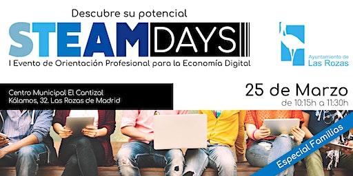 STEAM Days para Familias - Evento Orientación Profesional Economía Digital