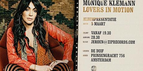 Albumpresentatie Monique Klemann tickets