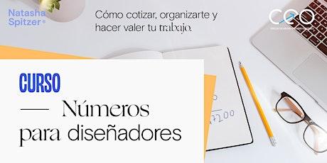 NÚMEROS PARA DISEÑADORES - con Caro Lopez Contadora entradas