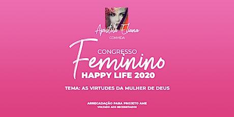 Congresso Feminino Happy Life 2020 ingressos