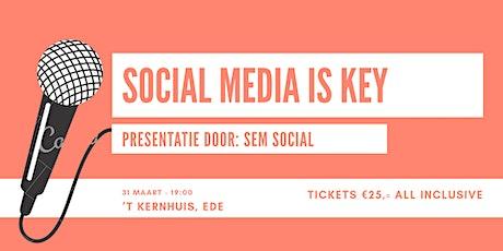 Workshop: Social Media Is Key! tickets