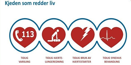 Førstehjelpskurs for frivillige i Redd Barna og bydelsverter på Bjørndal tickets
