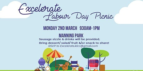 Excelerate Labour Day Picnic tickets