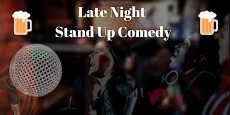 LateNight Lachkick Comedy Show im Prenzlauer Berg in Berlin -Eintritt frei Tickets