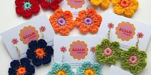 Realm Designs: Crochet Earring Workshop
