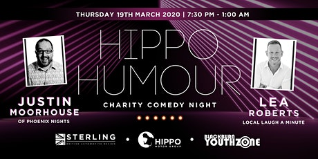 Hippo Humour - Charity Comedy Night  tickets