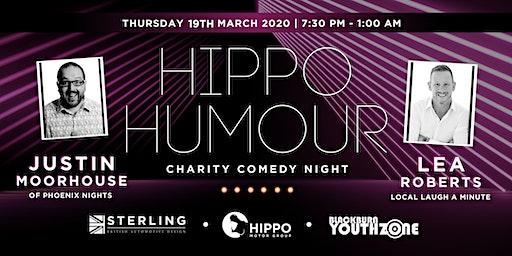 Hippo Humour - Charity Comedy Night