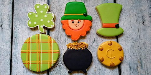 St. Patrick's Day Beginner Level Cookie Decorating Class