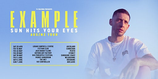 EXAMPLE  - 'Sun Hits Your Eyes' Tour