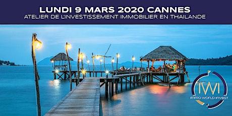 Les ateliers de l'investissement le 9 Mars 2020 à Cannes billets
