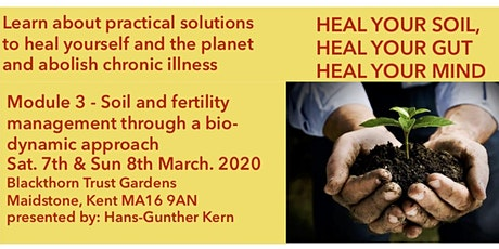 HEAL YOUR SOIL, HEAL YOUR GUT, HEAL YOUR MIND tickets