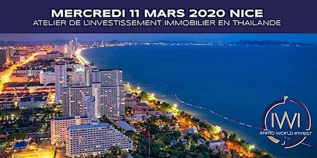 Les ateliers de l'investissement le 11 Mars 2020 à Nice billets