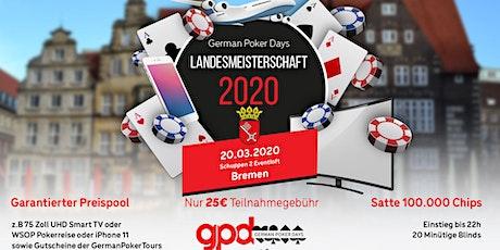 Poker Landesmeisterschaft Bremen Tickets