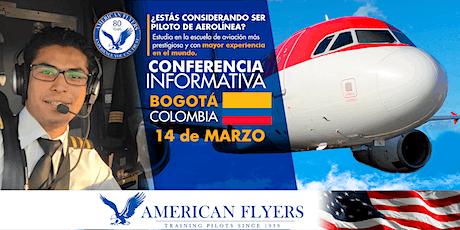 Conferencia Informativa de American Flyers en BOGOTÁ, COLOMBIA entradas