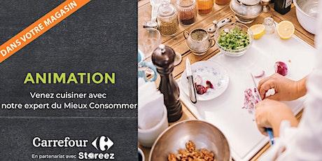 Cours de cuisine gratuit : Mon traiteur Bio tickets