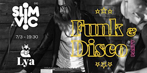 DJ Slim Vic [SE]: Funk & Disco Party