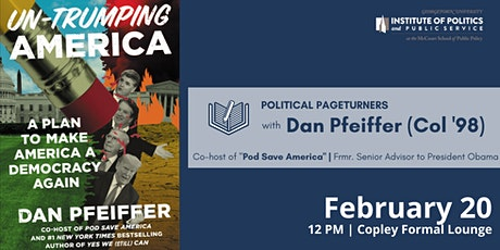 Political Pageturners with Dan Pfeiffer tickets