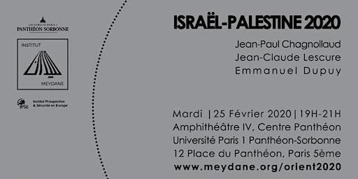 Orient 2020: Israël-Palestine, bilan et perspectives