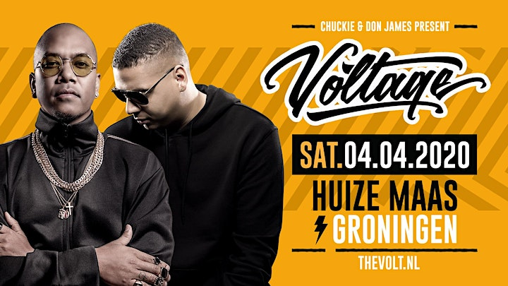 Afbeelding van Chuckie & Don James present: Voltage