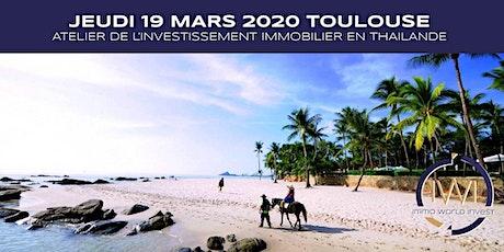 Les ateliers de l'investissement le 19 Mars 2020 à Toulouse billets