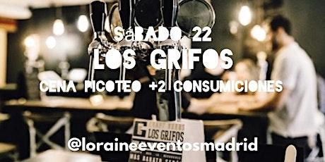 Cena Picoteo Singles y Amig@s en Los Grifos entradas