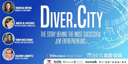 Diver.City - Meet the Hottest JLM Entrepreneurs