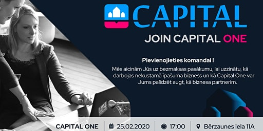 JOIN CAPITAL ONE