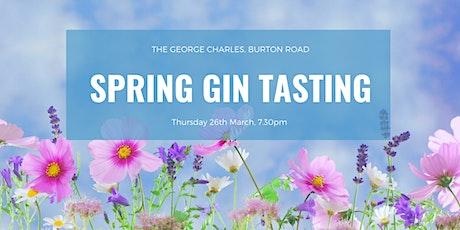 Spring Gin Tasting tickets
