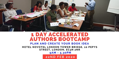 THE ACCELERATED AUTHORS 1-DAY BOOTCAMP tickets