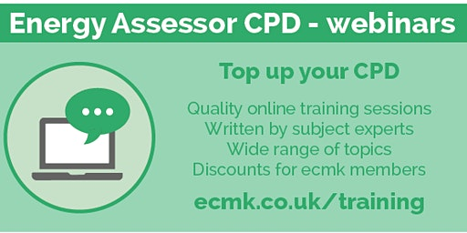 Measuring and Modelling - CPD Webinar