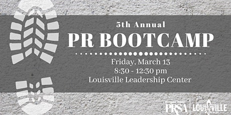 5th Annual PRSA's PR Bootcamp tickets