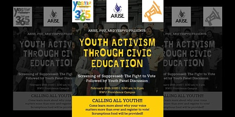Youth Activism Through Civic Education! Screening & Discussion Event! tickets