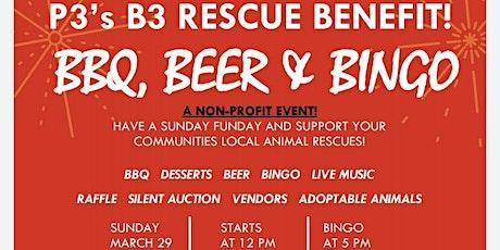 P3 BBQ Beer & Bingo Rescue Event tickets