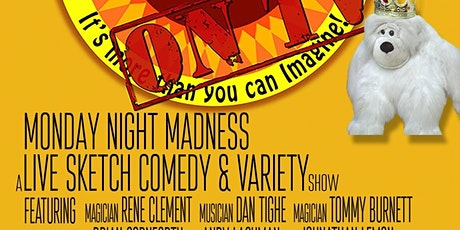 The Kong Show comedy variety show tickets