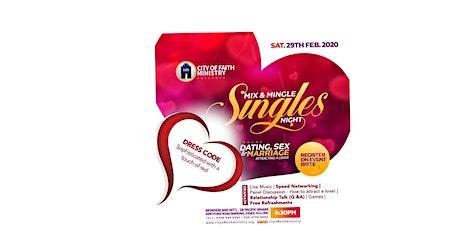 Singles Night tickets
