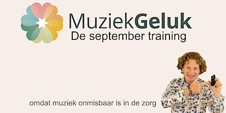 MuziekGeluk de september-training tickets