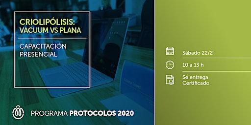 PROTOCOLOS 2020 - Criolipólisis Vacuum Vs Plana