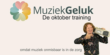 MuziekGeluk de Oktober-training tickets