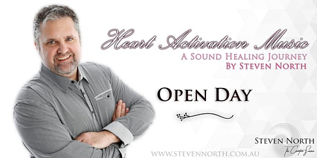 Open Day: Heart Activation Music with Steven North tickets